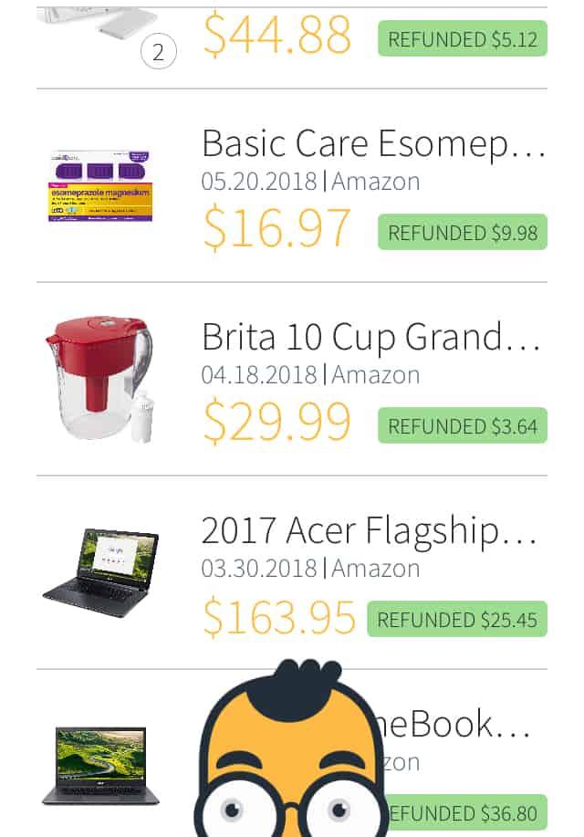Earny app amazon cash back