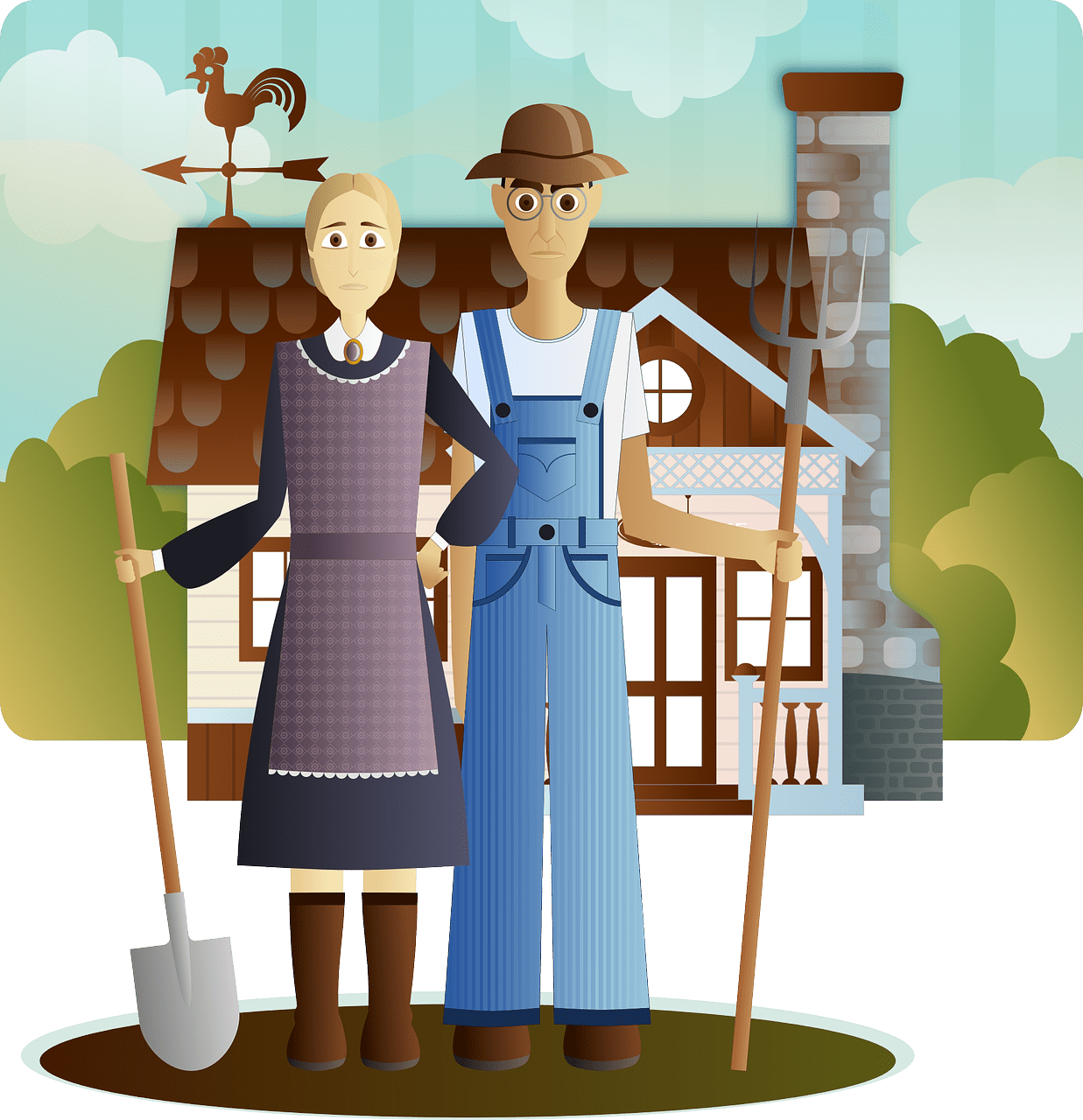 farm couple - For Love and Money - Talking Finances with Your Partner