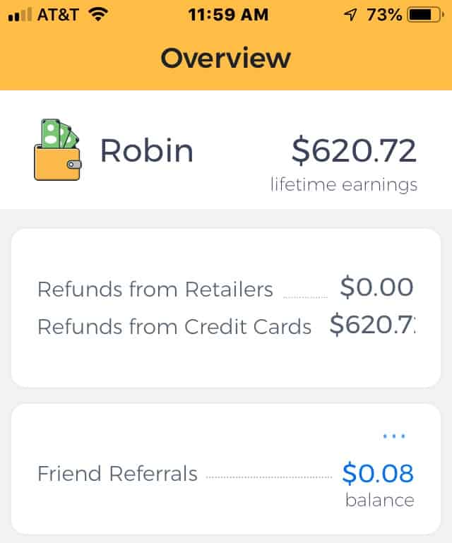 Earny Cash Back Earnings Online Shopping at Amazon