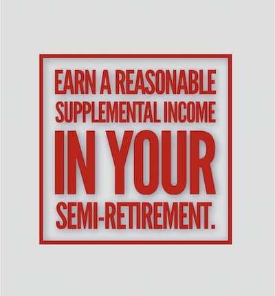Semi retirement job ideas well paid