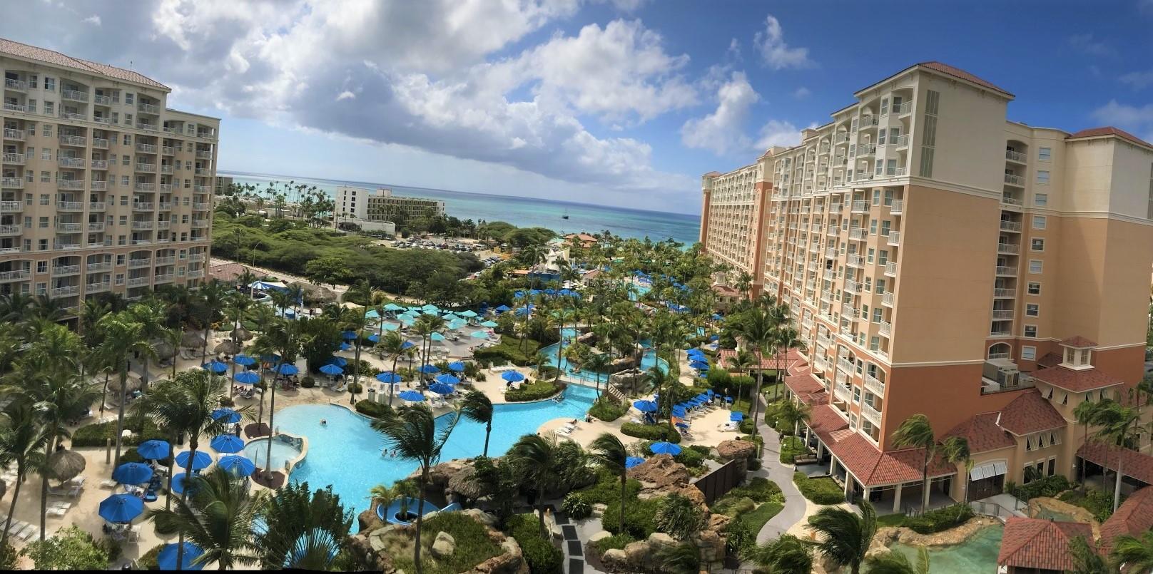 1. Marriott Aruba Surf Club
