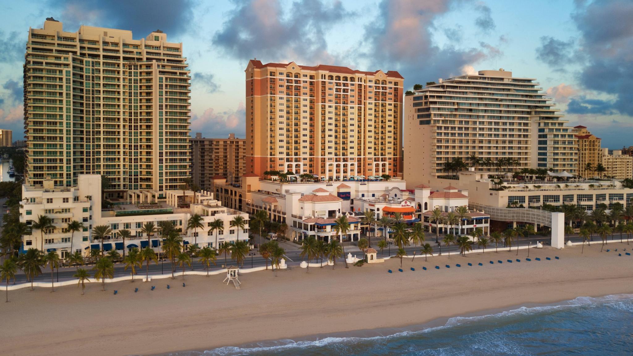 22. Marriott Beachplace Towers