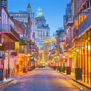 Bourboun Street New Orleans