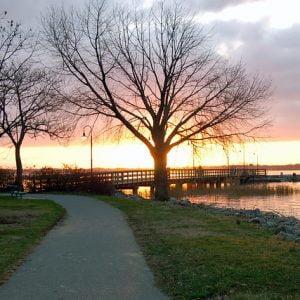 Delaware New Castle Battery Park