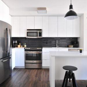 Kitchen with Aplliances