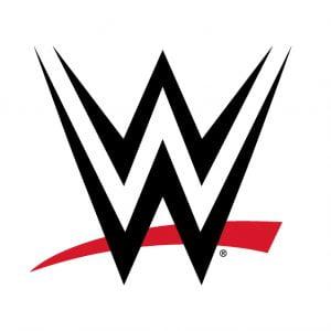 WWE Logo Primary Light Background Black Red