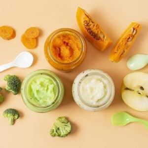 view baby food jars