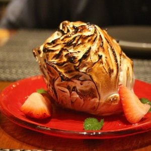 Baked Alaska Dessert courtesy of pixabay