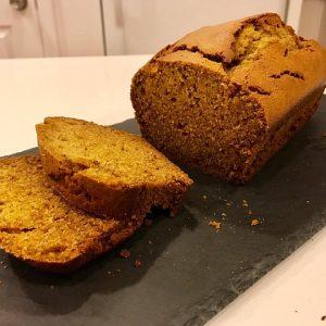 New Hampshire pumpkin pie bread courtesy of pixabay