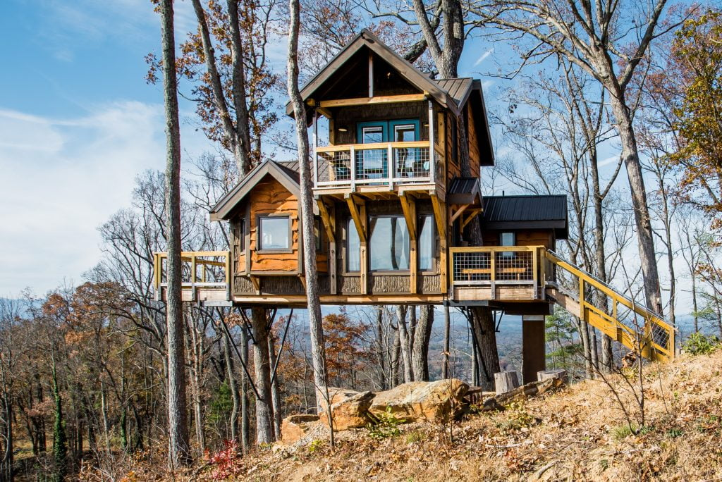 Treehouses of Serenity Asheville NC Airbnb