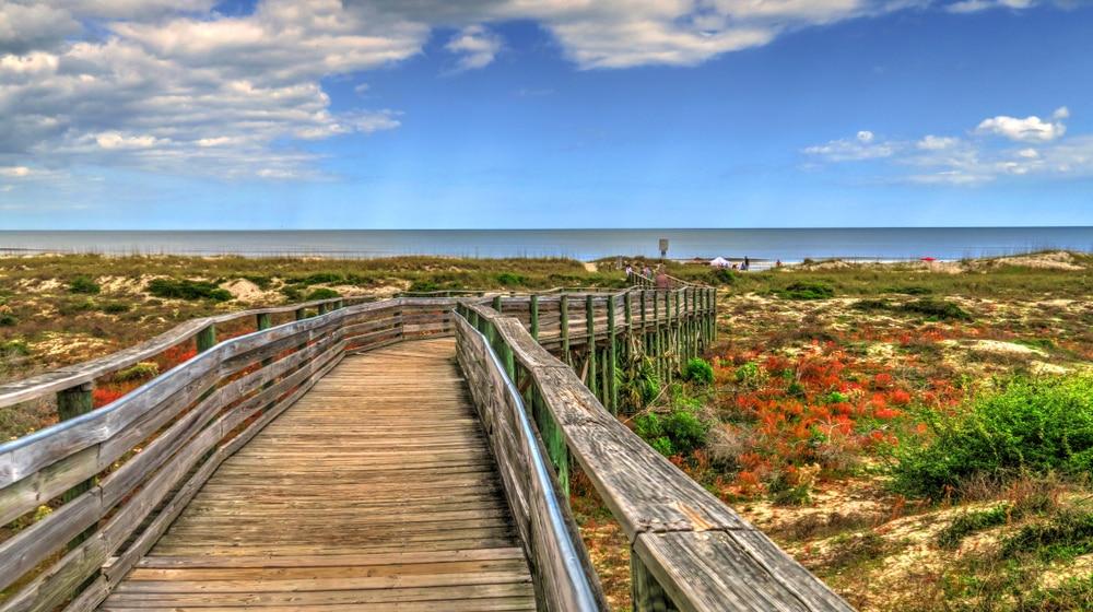 Amelia Island via Lynee Neuman Shutterstock