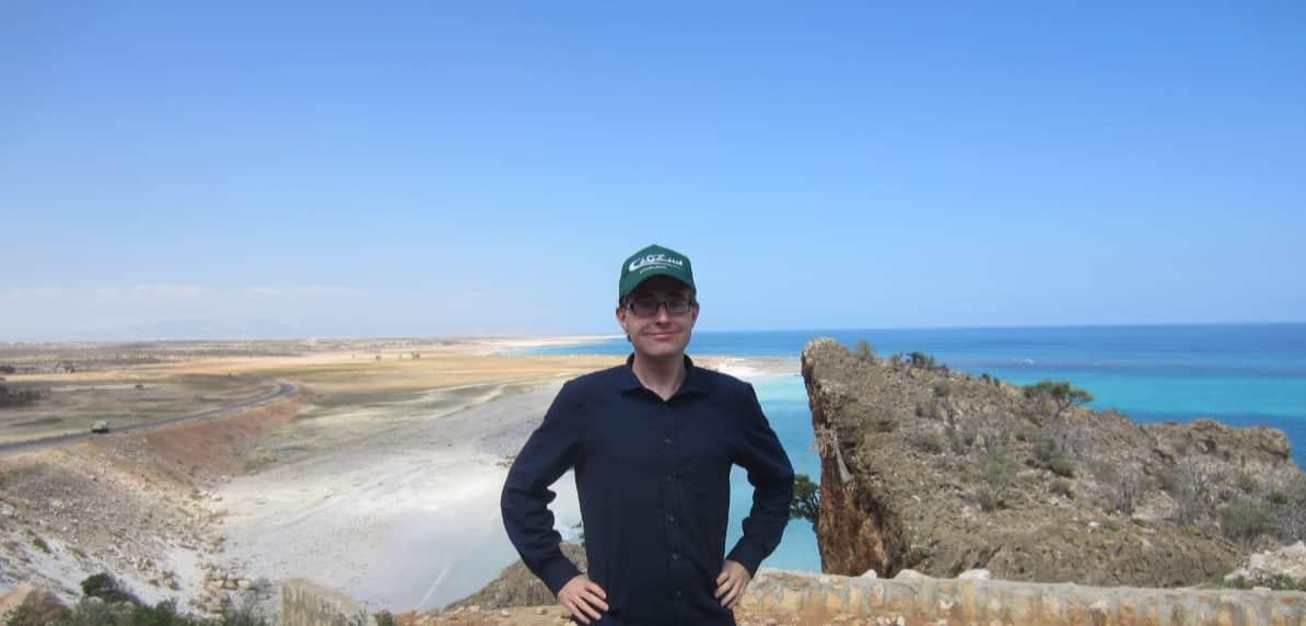 Henrik in Socotra