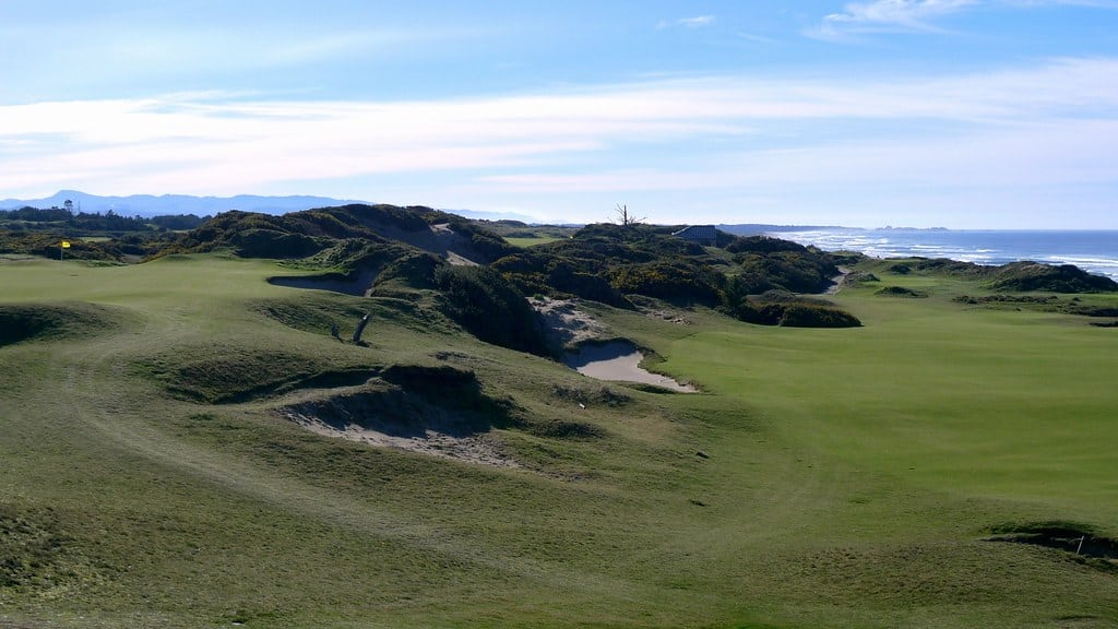 pacific dunes one of the cool us golf courses