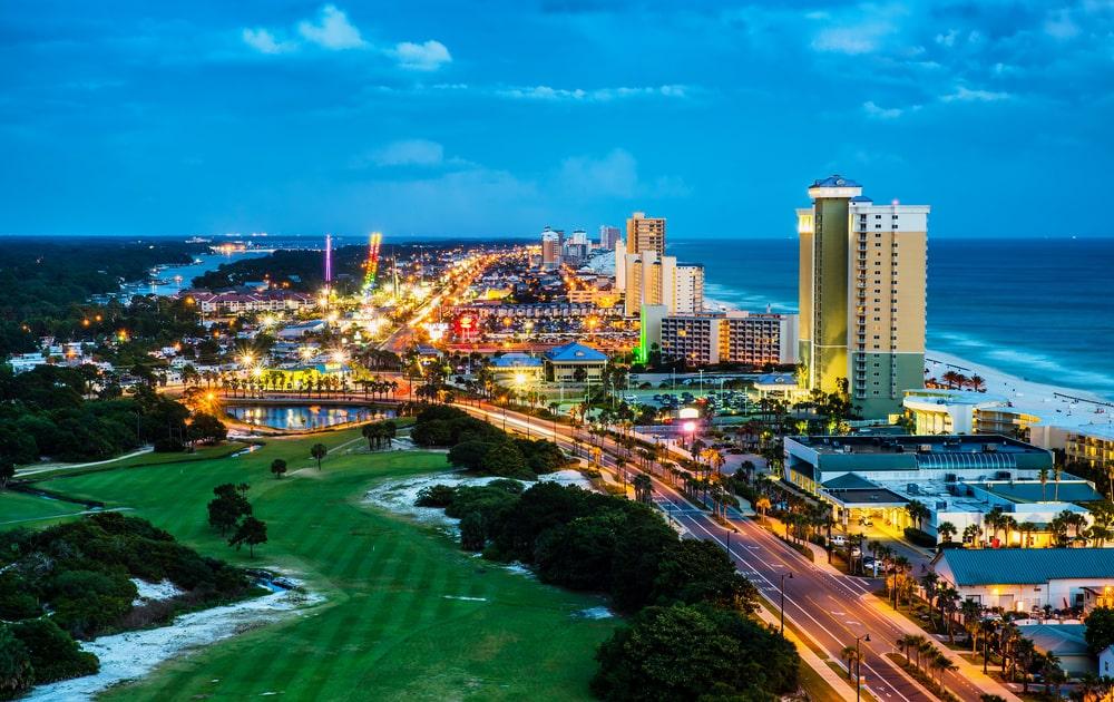 Panama City Beach via Rob Hainer Shutterstock