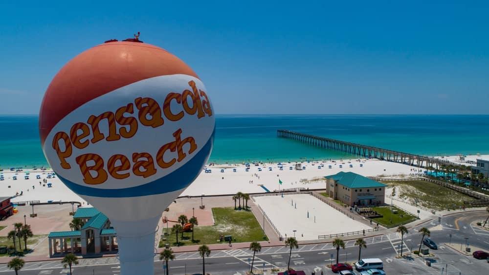 Pensacola via Timothy Comeaux Shutterstock