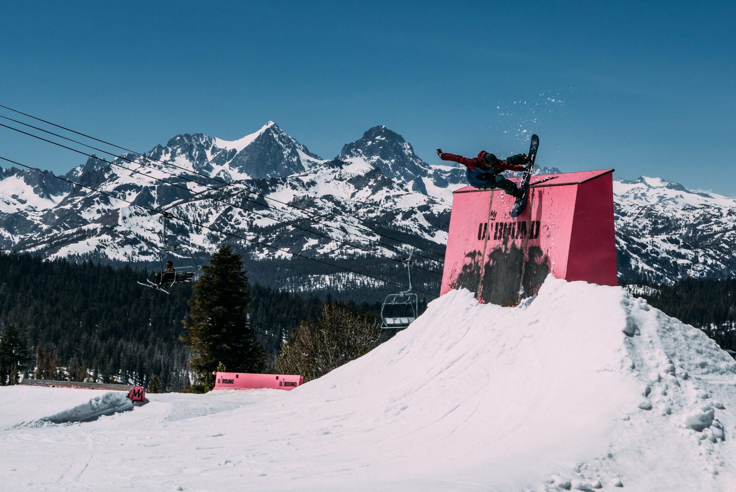 mammouth snowboard park unsplash scaled